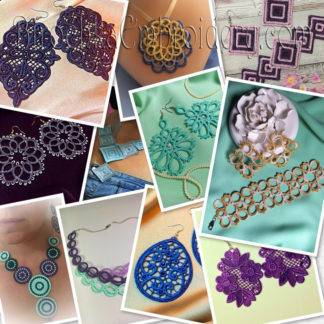 Lace Jewelery and Trimming Lace Patterns