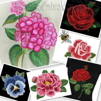 Flowers and Floral Embroidery Designs